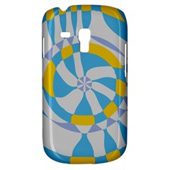 Abstract Flower In Concentric Circles Samsung Galaxy S3 Mini I8190 Hardshell Case by LalyLauraFLM