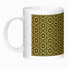 Cute Pretty Elegant Pattern Night Luminous Mugs by creativemom