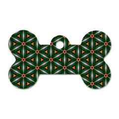 Cute Pretty Elegant Pattern Dog Tag Bone (two Sides) by creativemom