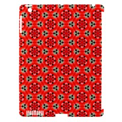 Lovely Orange Trendy Pattern  Apple Ipad 3/4 Hardshell Case (compatible With Smart Cover) by creativemom