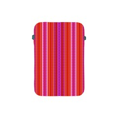 Orange Tribal Aztec Pattern Apple Ipad Mini Protective Soft Cases by creativemom