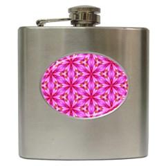 Cute Pretty Elegant Pattern Hip Flask (6 Oz) by creativemom