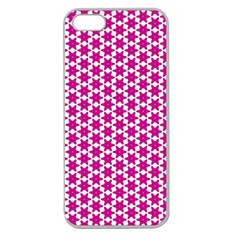 Cute Pretty Elegant Pattern Apple Seamless iPhone 5 Case (Clear) by creativemom