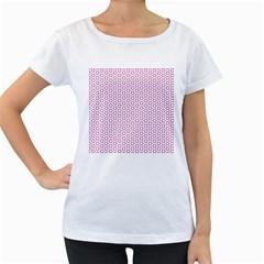 Cute Pretty Elegant Pattern Women s Loose-Fit T-Shirt (White) by creativemom