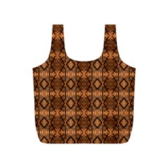 Faux Animal Print Pattern Full Print Recycle Bags (S)  by creativemom