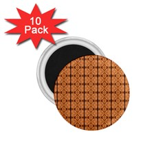 Faux Animal Print Pattern 1 75  Magnets (10 Pack)  by creativemom