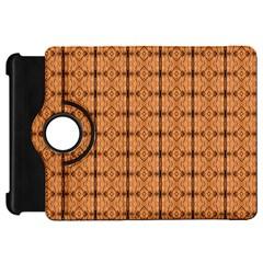 Faux Animal Print Pattern Kindle Fire Hd Flip 360 Case by creativemom
