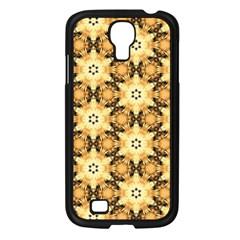 Faux Animal Print Pattern Samsung Galaxy S4 I9500/ I9505 Case (black) by creativemom
