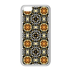 Faux Animal Print Pattern Apple Iphone 5c Seamless Case (white) by creativemom