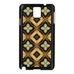 Faux Animal Print Pattern Samsung Galaxy Note 3 N9005 Case (black) by creativemom