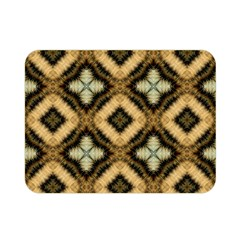 Faux Animal Print Pattern Double Sided Flano Blanket (Mini)