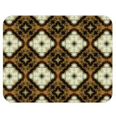 Faux Animal Print Pattern Double Sided Flano Blanket (medium)