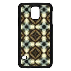 Faux Animal Print Pattern Samsung Galaxy S5 Case (black) by creativemom