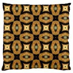 Faux Animal Print Pattern Standard Flano Cushion Cases (two Sides)  by creativemom