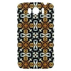 Faux Animal Print Pattern HTC Sensation XL Hardshell Case by creativemom