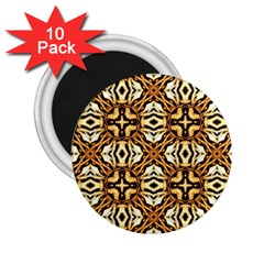 Faux Animal Print Pattern 2.25  Magnets (10 pack)  by creativemom