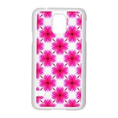 Cute Pretty Elegant Pattern Samsung Galaxy S5 Case (white) by creativemom