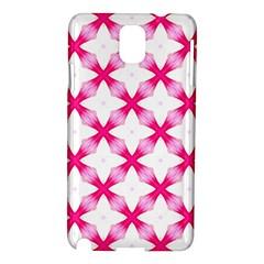 Cute Pretty Elegant Pattern Samsung Galaxy Note 3 N9005 Hardshell Case by creativemom