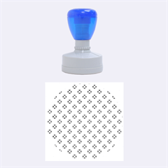 Cute Pretty Elegant Pattern Rubber Round Stamps (medium) by creativemom
