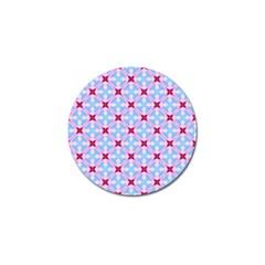 Cute Pretty Elegant Pattern Golf Ball Marker (4 pack) by creativemom