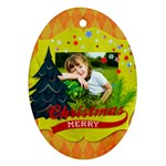 xmas - Ornament (Oval)