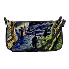 Banks Of The Seine KPA Shoulder Clutch Bags by karynpetersart
