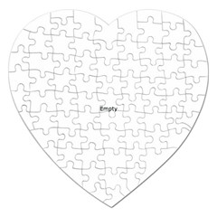 Comic Book Omg! Jigsaw Puzzle (heart) by ComicBookPOP