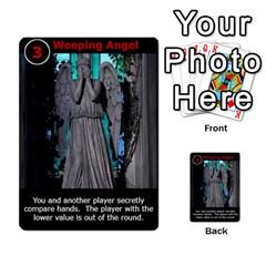 Dr Who Love Letter By Chris Szymanski   Multi Purpose Cards (rectangle)   Ba0bpkv4epho   Www Artscow Com Front 9