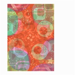 Fading shapes Small Garden Flag by LalyLauraFLM