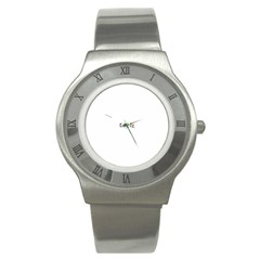 Watch-Julie Stainless Steel Watch (Slim) by TheDean