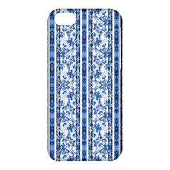 Chinoiserie Striped Floral Print Apple Iphone 5c Hardshell Case by dflcprints
