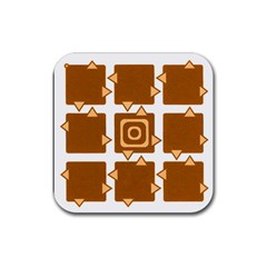 Martain Coaster Orange Drink Coaster (square) by TheDean