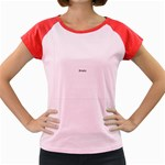 Colour Fields Women s Cap Sleeve T-Shirt