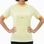 Colour Fields Women s Fitted Ringer T-Shirts