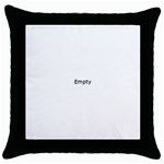 Colour Fields Throw Pillow Cases (Black)