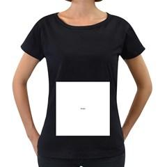 Colour Fields Women s Loose-Fit T-Shirt (Black)