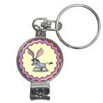 Big ears Nail Clippers Key Chain