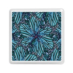 Modern Floral Collage Pattern Memory Card Reader (square)  by dflcprints