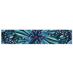 Modern Floral Collage Pattern Flano Scarf (Small)  by dflcprints