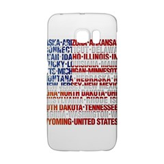USA States Flag Galaxy S6 Edge by theimagezone