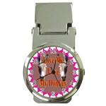Love my donkey 2 Money Clip Watch