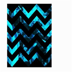 Zigzag Large Garden Flag (Two Sides) by FashionMeNowwStyle2