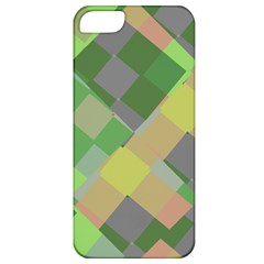 Squares And Other Shapes Apple Iphone 5 Classic Hardshell Case by LalyLauraFLM