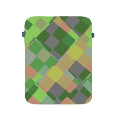 Squares And Other Shapes Apple Ipad 2/3/4 Protective Soft Case by LalyLauraFLM