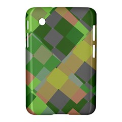Squares and other shapes Samsung Galaxy Tab 2 (7 ) P3100 Hardshell Case  by LalyLauraFLM