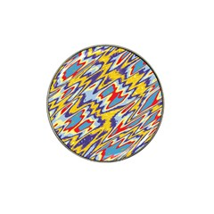 Colorful Chaos Hat Clip Ball Marker (10 Pack) by LalyLauraFLM