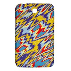 Colorful Chaos Samsung Galaxy Tab 3 (7 ) P3200 Hardshell Case  by LalyLauraFLM