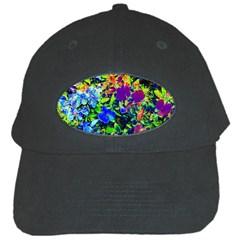 The Neon Garden Black Cap by rokinronda