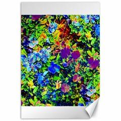 The Neon Garden Canvas 20  X 30   by rokinronda