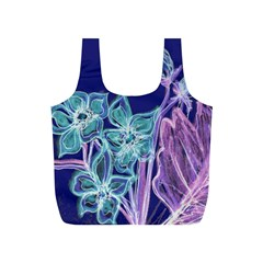 Bluepurple Full Print Recycle Bags (S)  by rokinronda